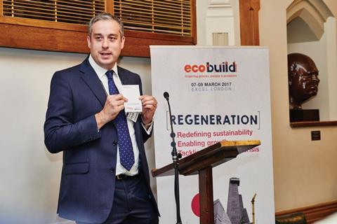Martin Hurn, Brand Director, Ecobuild